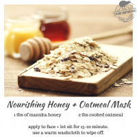 Nourishing Honey + Oatmeal Mask