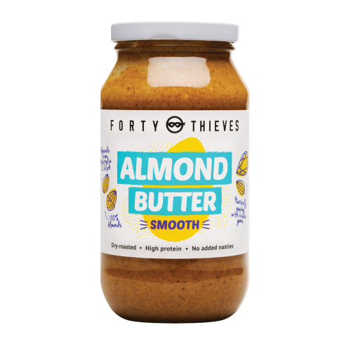 2020 Almond Butter Smooth Jumbo Jar