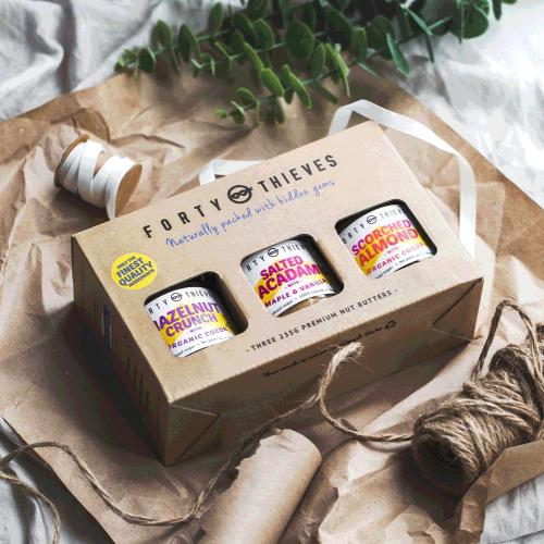 2020 gift box of nut butters specialty food gifts USA