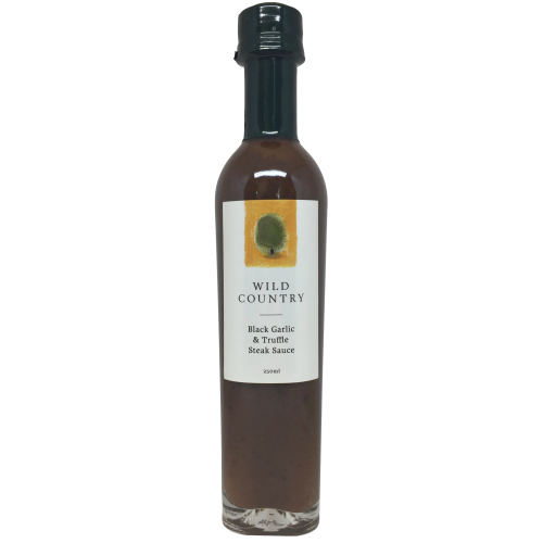 Black Garlic Truffle Steak Sauce from New Zealand