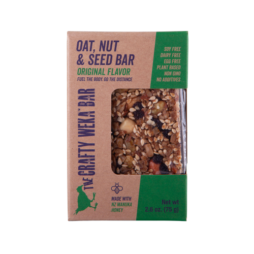 Crafty Weka snack bar all natural ingredients