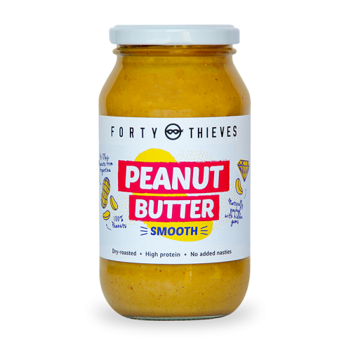 all natural sugar free Peanut Butter Smooth 500