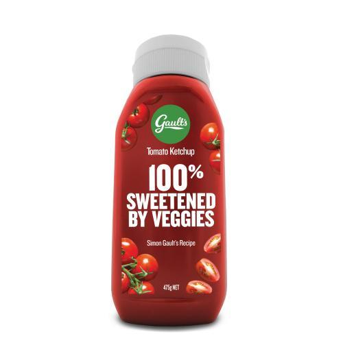 ketchup veggies front