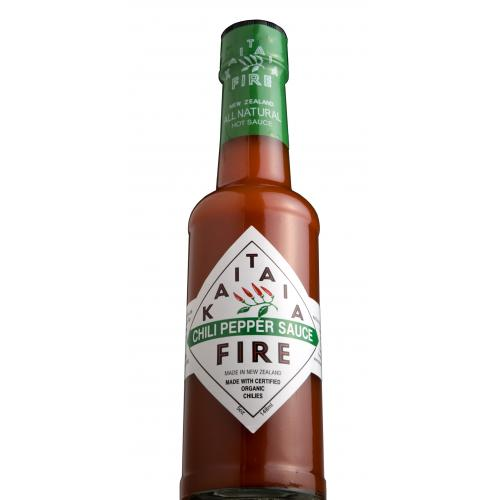 Kaitaia Fire Organic Hot Sauce Tobasco Chili Sauce Cayenne Pepper Sauce