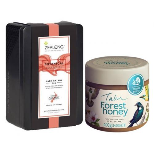 Lady Gatsby Tea and Forest Tahi Honey