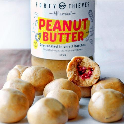 Peanut smooth peanut butter jelly balls Nicky Skinner 2