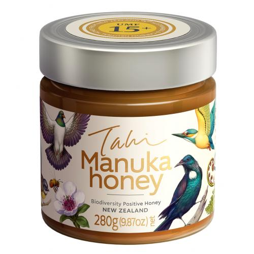 Manuka honey in a glass jar UMF 15+ from New Zealand The Kiwi Importer