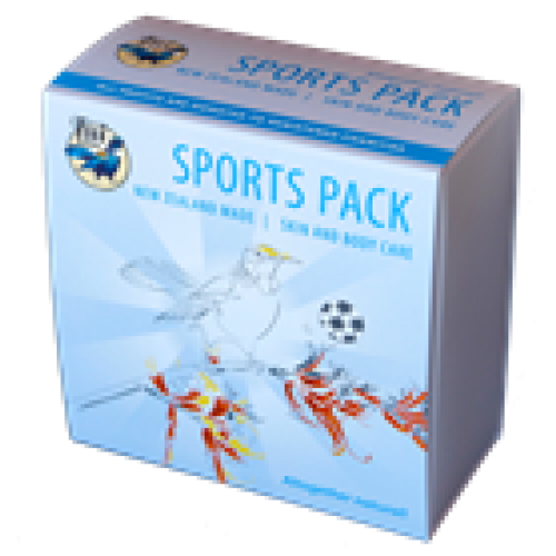 Tui natural balms sports pack