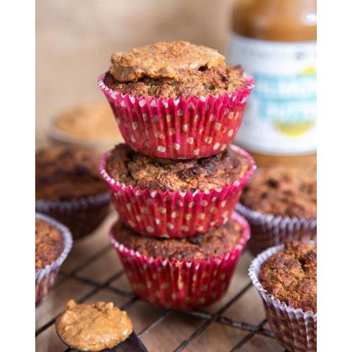 almond butter smooth muffins photo nadiaeves