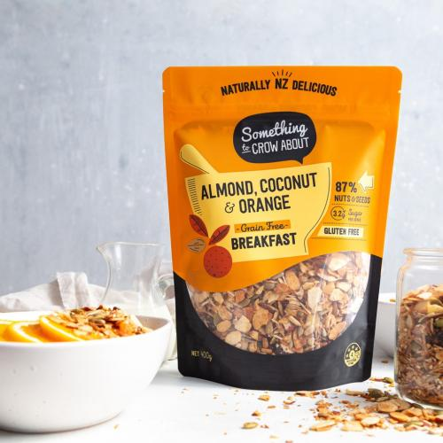 almond coconut orange food and pack sq
