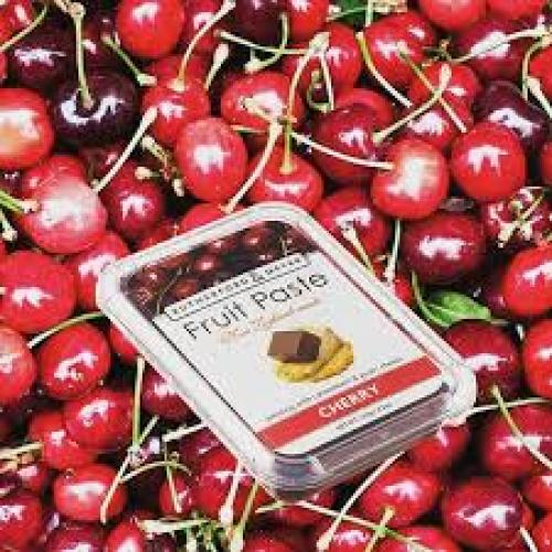 cherry fruit paste in cherries