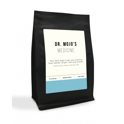coffee roasted whole bean dr mojo medicine