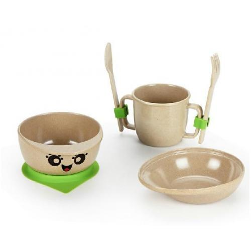 plastic free plate and cup for babies