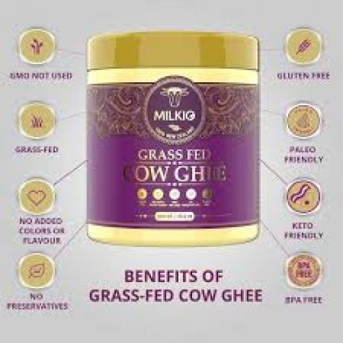 grass fed cow ghee benefits