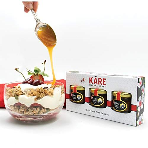 kare 10 15 20 plus manuka honey gift pack with food