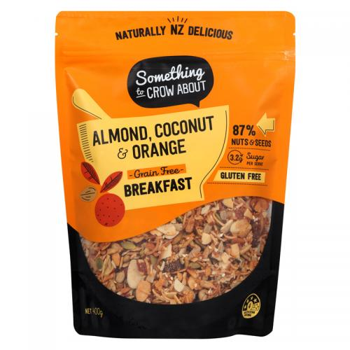 almond coconut and orange grain free breakfast