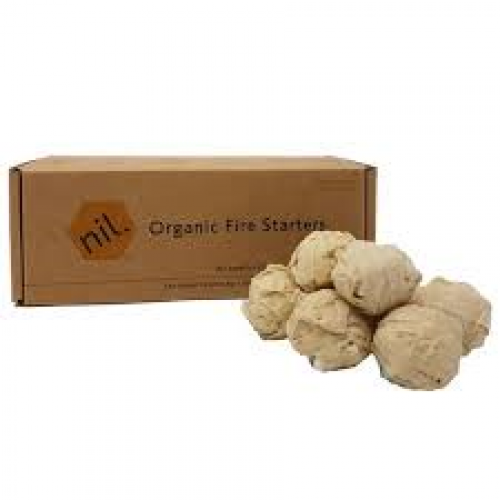 organic natural chemical free fire starters