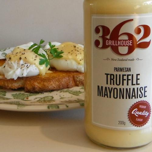 truffle mayo with eggs 2