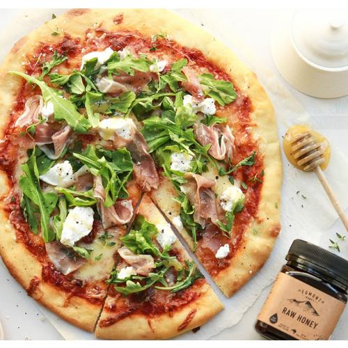 ricotta and raw manuka honey pizza verve magazine