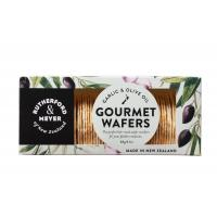 RM Gourmet Wafer Garlic Olive Oil 60g front2