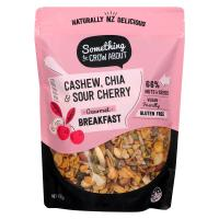 cashew and cherry cereal gluten free breakfast