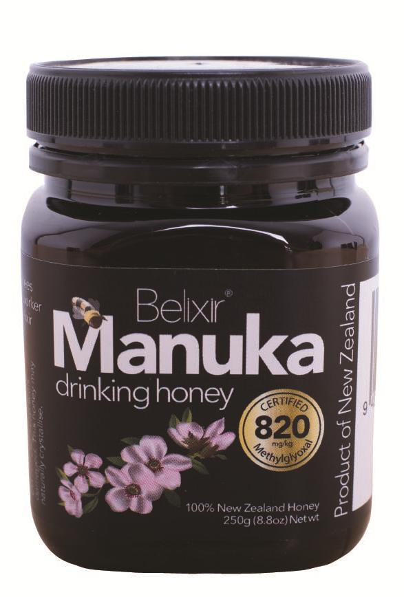 Manuka Drinking Honey MG820 (8.8 oz) by Belixir - The Kiwi ...